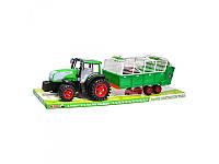 Трактор  инер-й с прицепом Metr+  0488-154