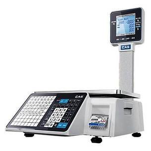 Весы с печатью этикеток CAS CL-3500-P (15 кг), фото 2