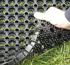 Коврик резиновый сота 100 х 150 х 1,6 см, фото 2