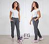 Женские спортивные штаны из трикотажа, фото 3