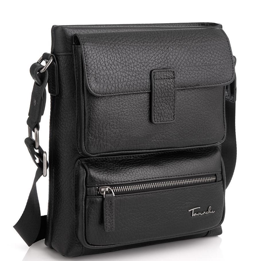 Кожаная сумка через плечо на одно отделение Tavinchi TV-S009A
