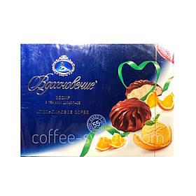 Зефир Вдохновение в темном шоколаде со вкусом Апельсина 245 гр.