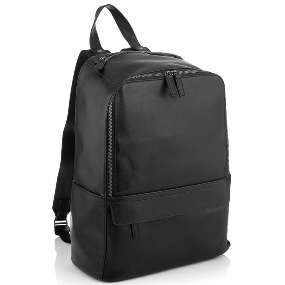 Міський чоловічий шкіряний рюкзак для ноутбука Tiding Bag SM8-9525-3A