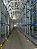 Монтаж складских и торговых стеллажей