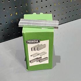 Скоба оббивна типу A 4-16 мм( А-04, А-06, А-08, А-10, А-12, А-14, А-16) для пневмостеплера меблева Prebena