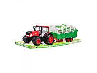 Трактор  с прицепом Metr+   0488-161