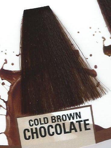 Маска-Краска Без Аммиака KROM K-COLOR Холодный Коричневый Шоколад, 250 Мл