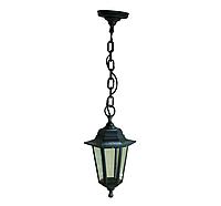 Уличный подвесной светильник на цепочке PL6105 черный, Е27 металл
