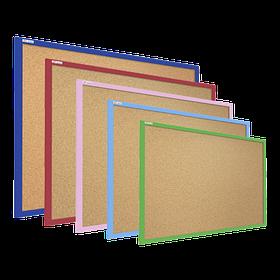 """Коркові дошки в кольоровий дерев'яній рамі TM """"ALL boards"""""""