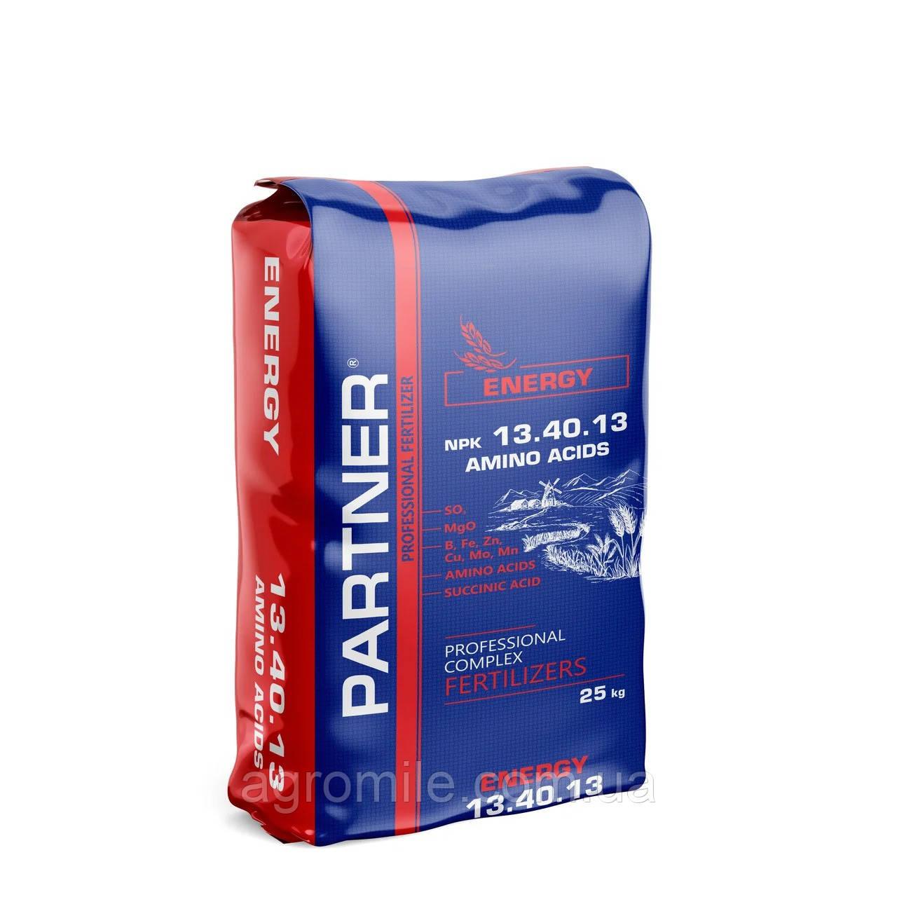 Удобрение PARTNER ENERGY NPK 13.40.13+АМК+МЕ (25 кг)