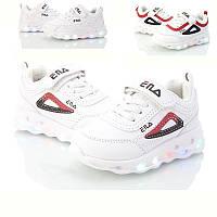 Кроссовки детские BBT для девочки р21-26 ( код 5018-00)