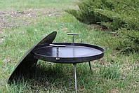 Сковорідка 60 см з кришкою і чохлом Буковинка, фото 5