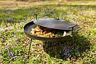 Сковорідка 50 см з кришкою Буковинка, фото 4