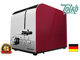 Тостер Silver Crest STS 850 D1 red metallic