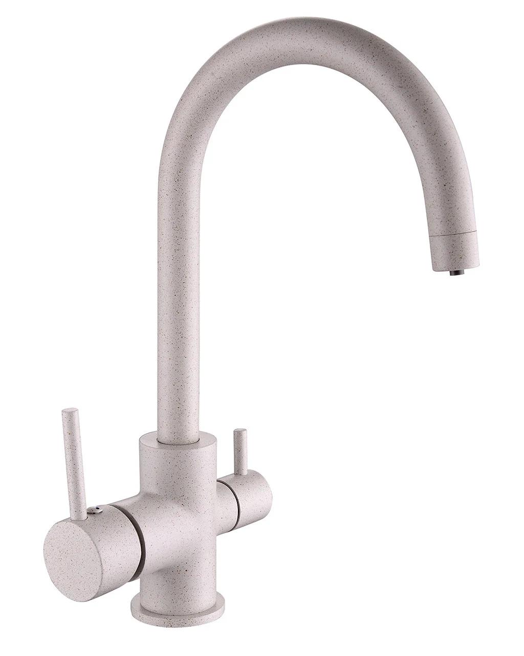 """Cмеситель для кухонной мойки, Imprese""""DAICY"""" 55009-UG, с подключением питьевой воды,Чехия"""