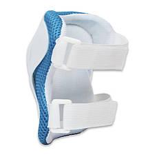 Роликовые коньки раздвижные детские в наборе защита, шлем, сумка JINGFENG 189 (S (31-34), Синий), фото 3