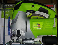 Электролобзик Белорус МТЗ ПЛЭ-1280, мощность 1280 Вт, регулировка оборотов,угол наклона , макс пропил 80 мм
