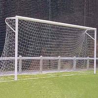 Сетка футбольная игровая, диаметр шнура 3,5мм