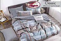 Фланелевое постельное белье евро размер/Комплект постельного белья/постельное белье