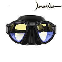 Маска Marlin Hunter Black з просвітленими стеклами