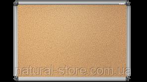 """Пробкова дошка для нотаток 60х90см в алюмінієвій рамі TM """"ALL boards"""""""