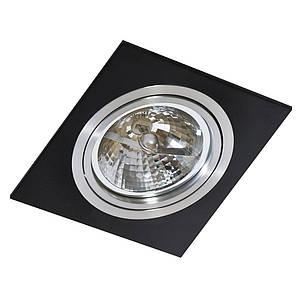 Точечный светильник Azzardo _bk_alu Siro AZ0769