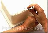 Набір щипців з гладкими краями для декору краю торта з мастики маленькі, фото 6