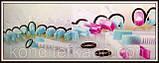 Набір щипців з гладкими краями для декору краю торта з мастики маленькі, фото 7