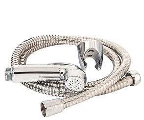Набор для биде (ручной душ хром., держатель, двойной шланг 1,2м) Imprese IMPRESE B70312, Чехия, фото 2