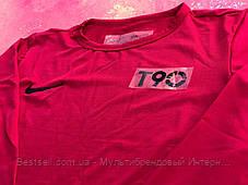 Термо-кофта красная Nike Pro Combat Core Compression / компрессионные кофта / термобелье, фото 2