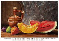 """Схема для частичной вышивки бисером """"Августовские плоды"""""""