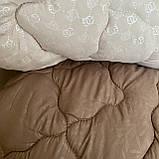 "Одеяло полуторное на холлофайбере ""АРДА"" Размер 150*210 см   Ковдра, наповнювач холлофайбер. Стеганое одеяло, фото 3"