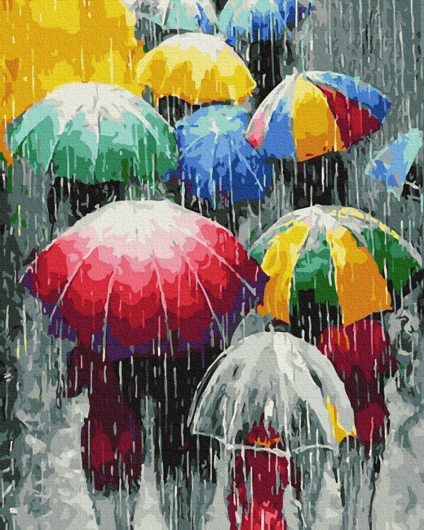 Дождевые краски