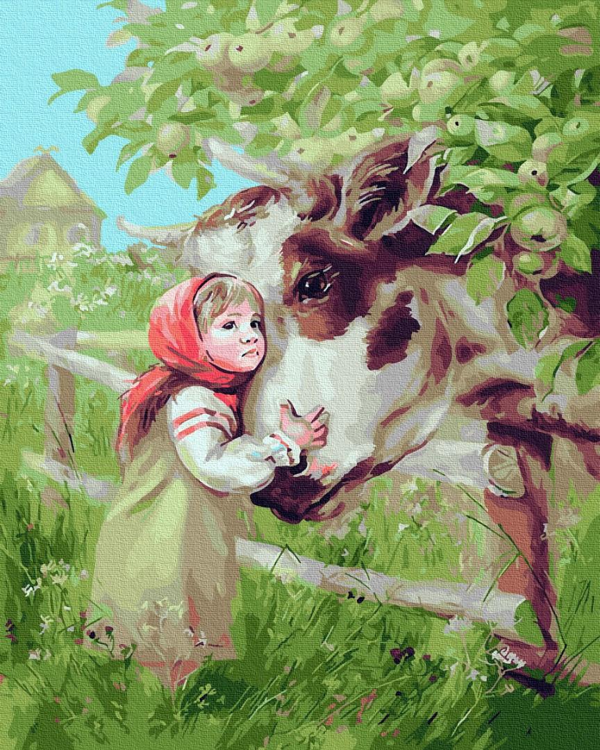 Маша і корівка