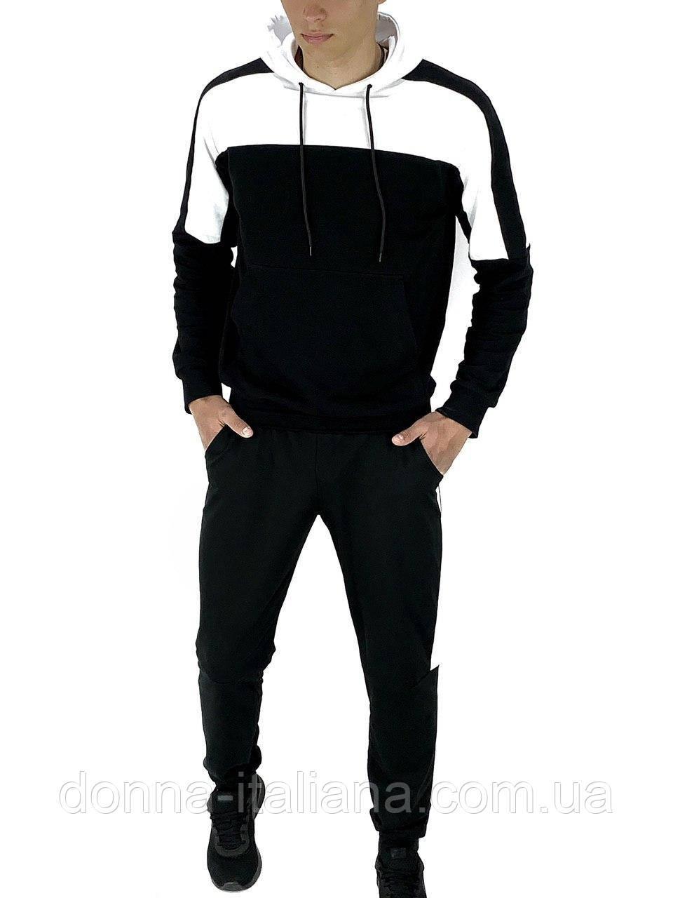 Спортивный костюм Intruder Spirited S Черно-белый (1586893869/ 1)