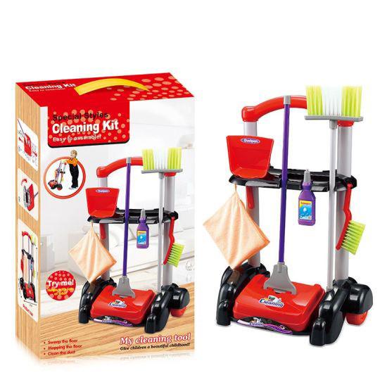 Набор для уборки 0366A (Красный)