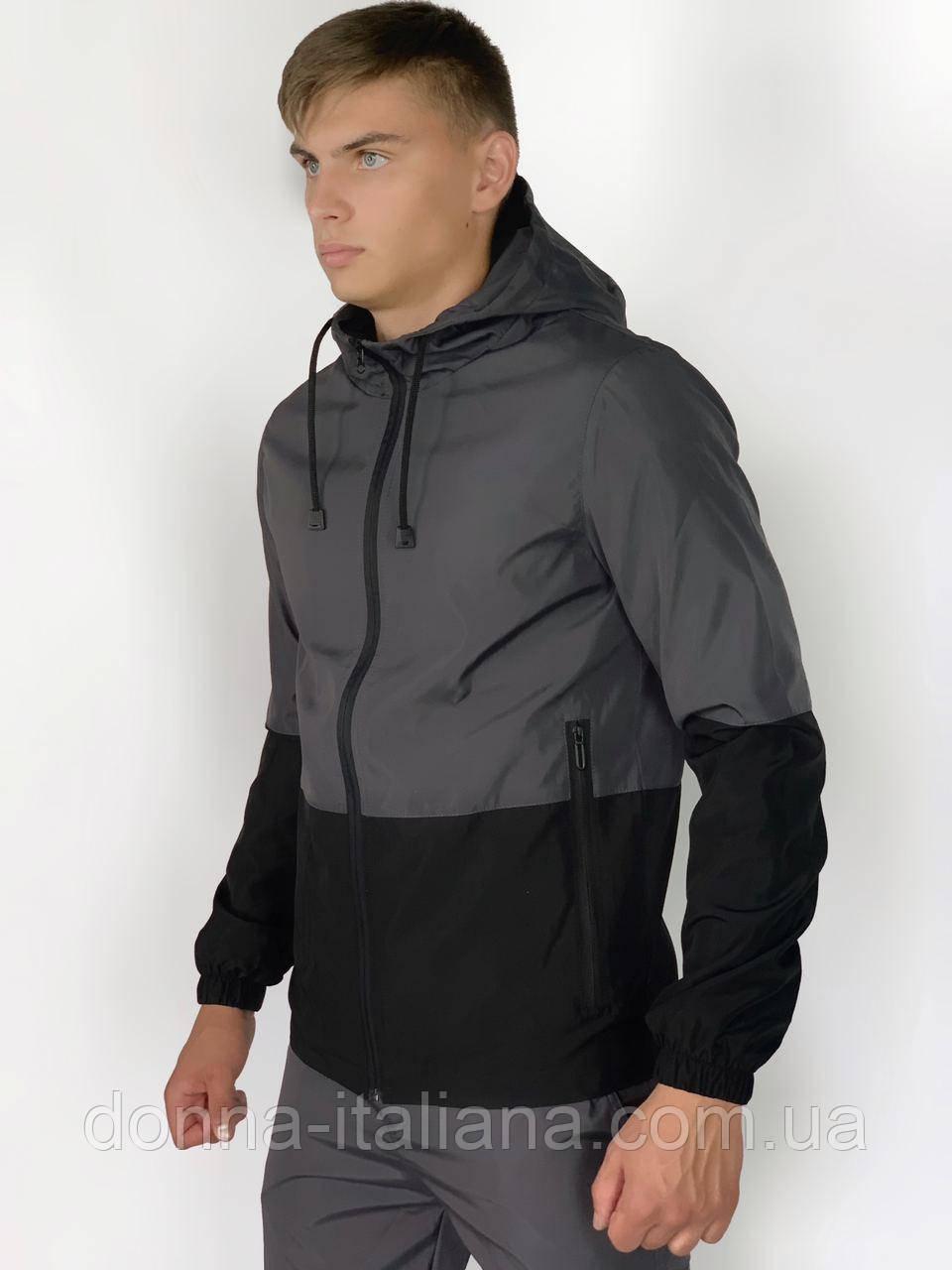 Куртка Softshell light Intruder S Сіро-чорна ( 1589539732)