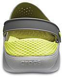 Кроксы Crocs LiteRide™ Clog серо-салатовые 36 р., фото 5