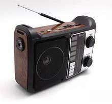 Радио портативная колонка MP3 USB Golon RX-333+BT c Bluetooth Brown