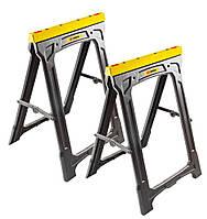 Козлы TOPEX, грузоподъёмность 227 кг, высота 78 см, набор 2 шт.