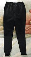 Термобельё, подштанники чёрные на флисе для мальчика р.140-146 Турция