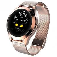 Модные женские умные часы SMART VIP LADY GOLD наручные смарт часы