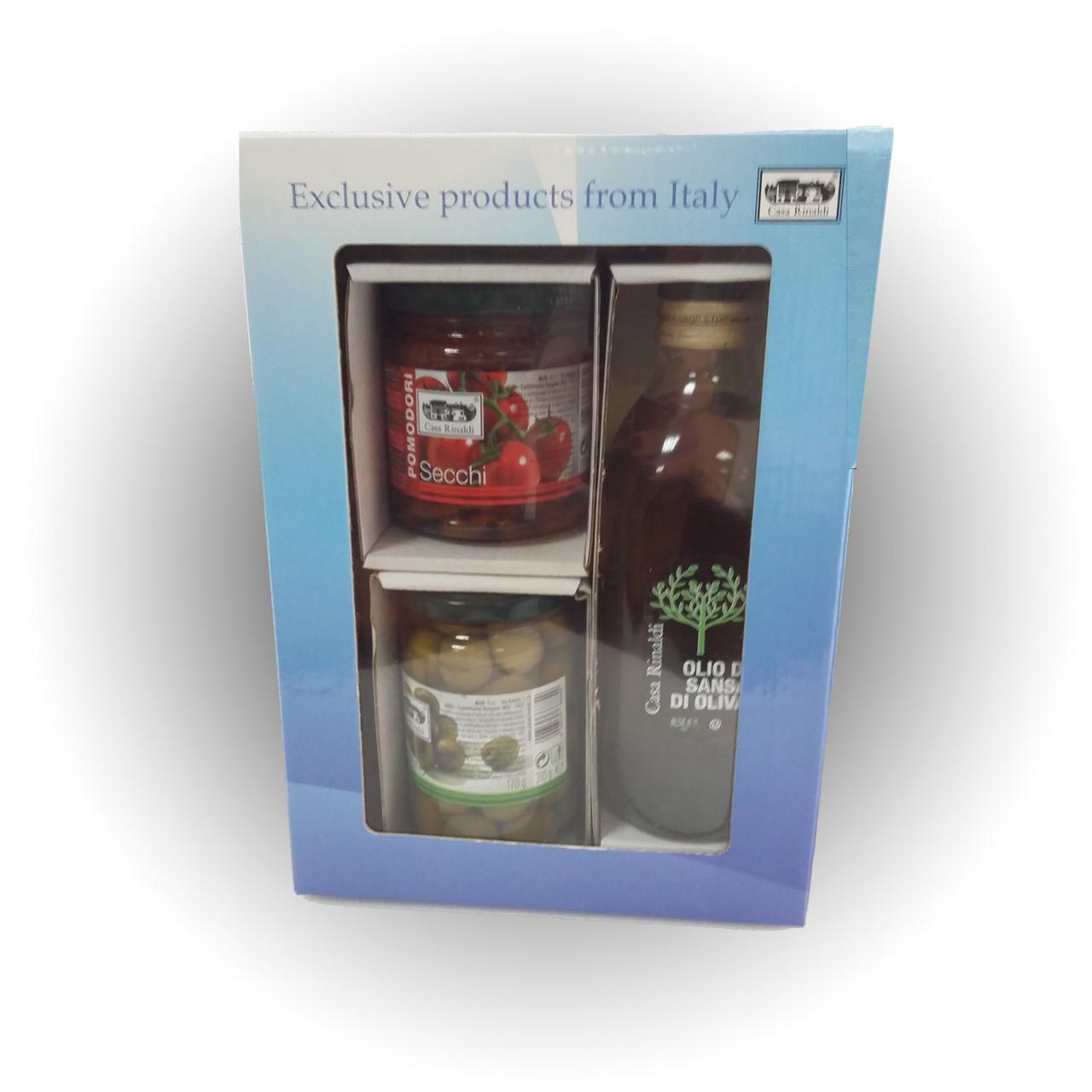 Подарочный набор Casa Rinaldi с продуктами Emozione  - Casa Rinaldi - продукты итальянского фермерства в Киеве