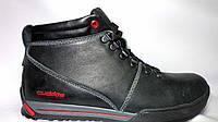 Зимние мужские кожаные  спортивные ботинки Сuddos