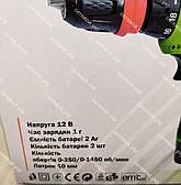Шуруповерт аккумуляторный Eltos ДА-12M/DFR (2 аккумулятора), фото 2