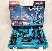 Шуруповерт акумуляторний Grand PRO ТАК-Ударний 21UBL, фото 2