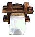 Деревянная люстра потолочная на 1 плафон 915511, фото 2
