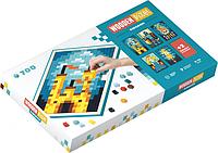 Пиксельная мозаика Cubika Wooden pixel 8 Королевство 700 деталей  КОД: 14941