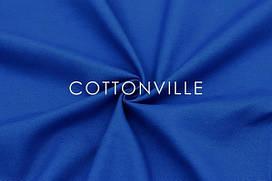 Декоративная ткань/ панама Синяя