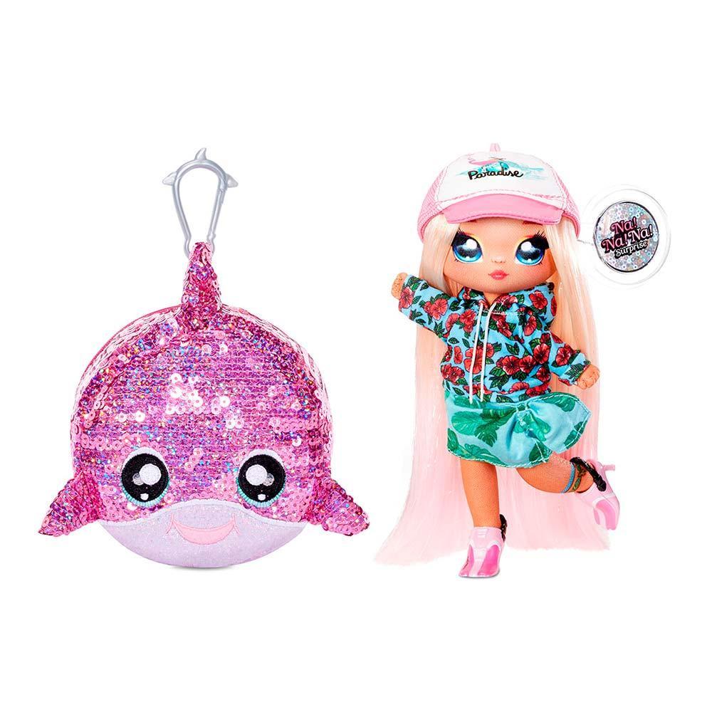 Оригинал! Мягкая кукла Кукла На На На Сюрприз Криста Сплаш Na na na surprise Sparkle Krysta Splash 573760